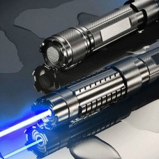 Мощнейший лазер синего цвета High Power Blue Light Flashlight